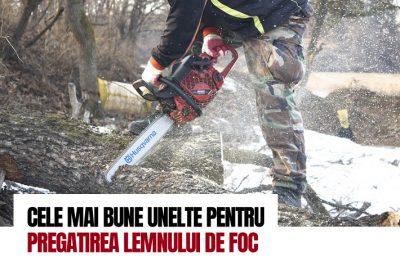 Cele mai bune unelte pentru pregatirea lemnului de foc